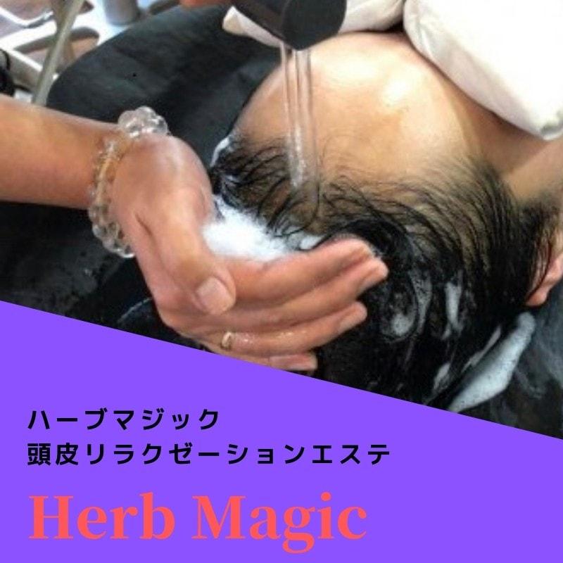 【ハーブマジック】頭皮洗浄ヘアエステ Aコース