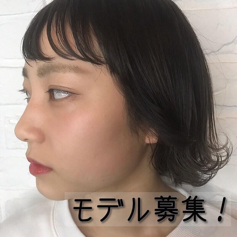 【モデル募集】カット(アシスタントHINAKO指名)