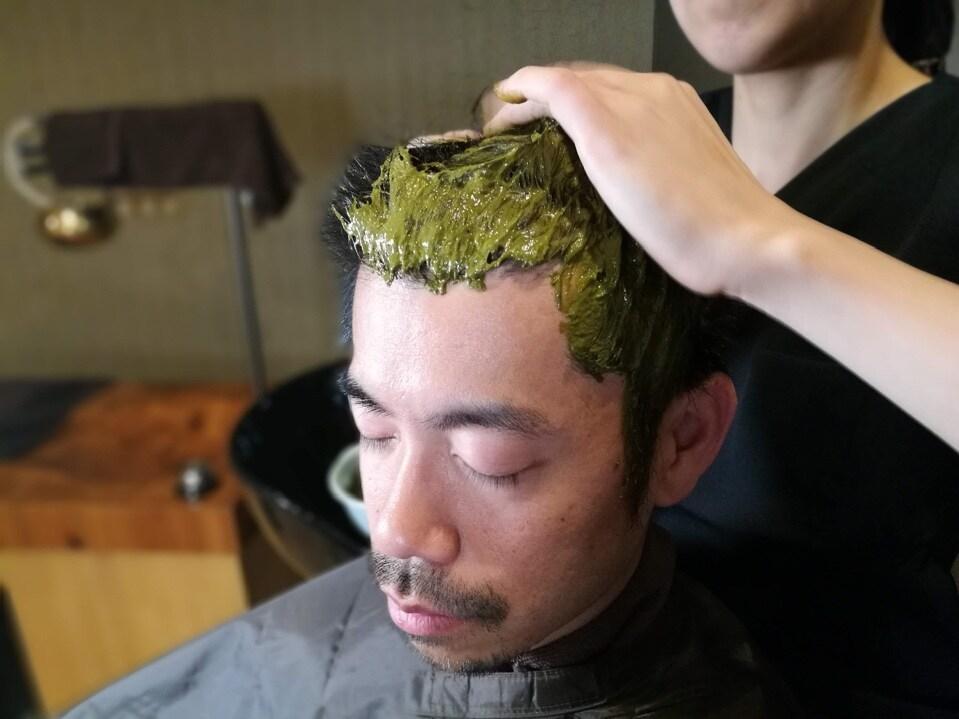 【Qush:miAAAヘナを使用】頭皮からのデトックス デトックスヘナ オーガニックハーブ染め 180分