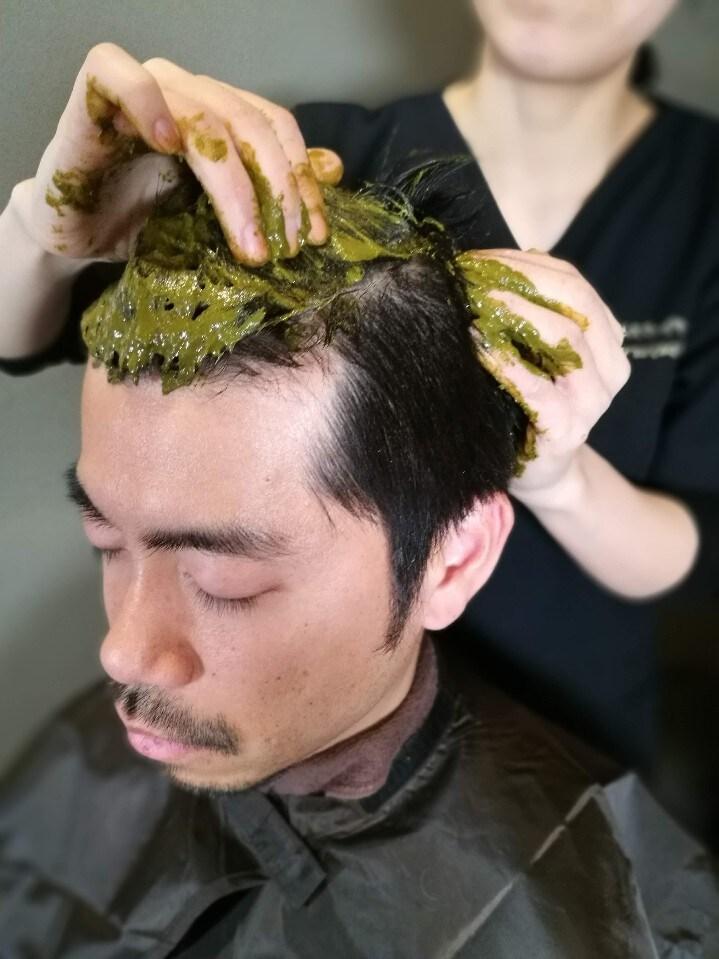 【Qush:miAAAヘナを使用】頭皮からのデトックス デトックスヘナ 75分