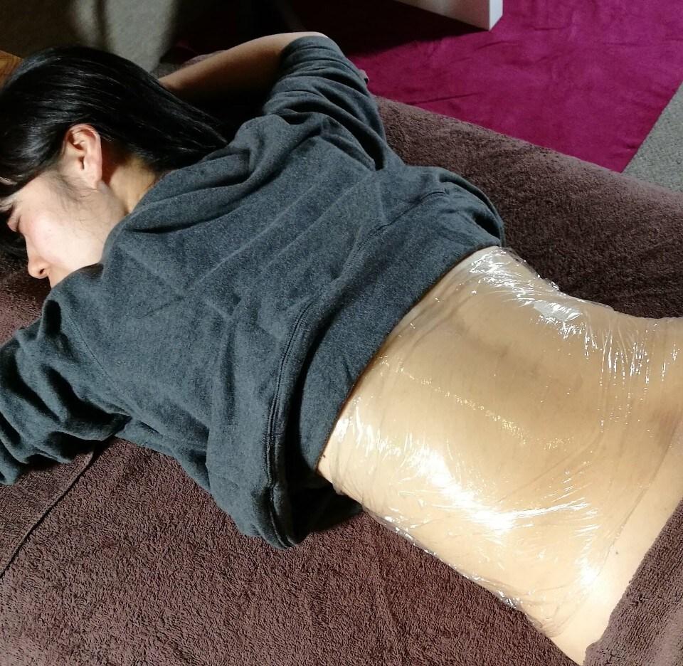 【腎と肝のデトックス】腎→肝とお腹に陰圧+ひまし油ラップ 60分
