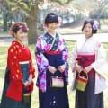 <朝8時予約>卒業式 袴着付+ヘアセットのイメージ