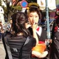 芸者・花魁 ヘア+メイク、着付け(衣装付)<スタジオ撮影限定プラン>のイメージ