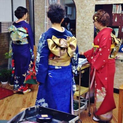 (3名以上)カラオケ発表会 ヘア+メイク(舞台用)のイメージ