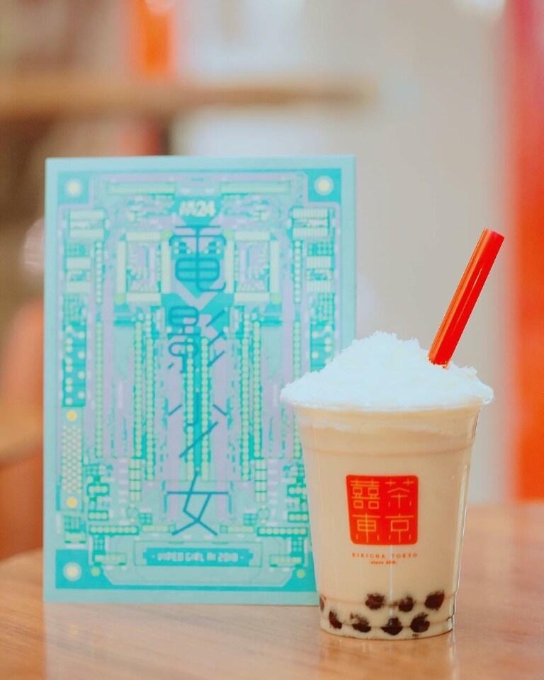 タピオカミルクティーが美味しい台湾茶カフェ/KIKICHA.TOKYO(キキチャトウキョウ)吉祥寺店   KIKICHATOKYOのお店がテレビに出演いたします‼︎