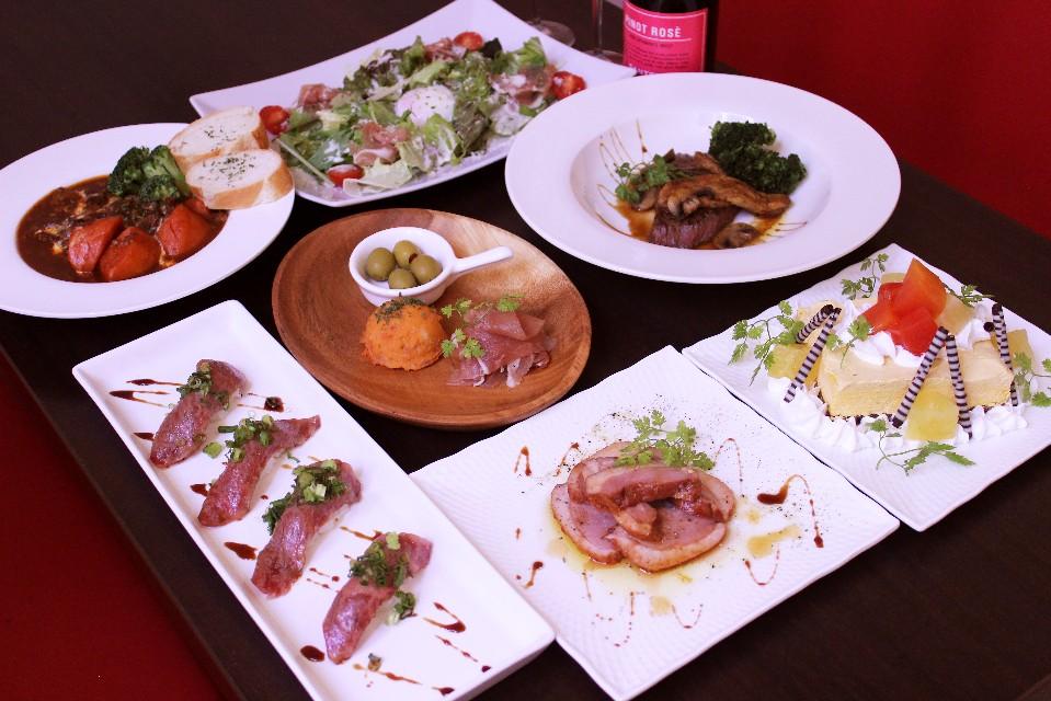 横浜駅西口 肉バルICHIE | 【3日間限定】クリスマスディナーのご案内