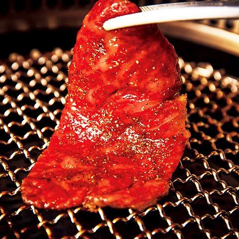焼肉膳所  龍土町  匠 | 【龍土町コース】赤身肉・霜降り肉どちらも味わえるベーシックなコース<全7品(10種)>