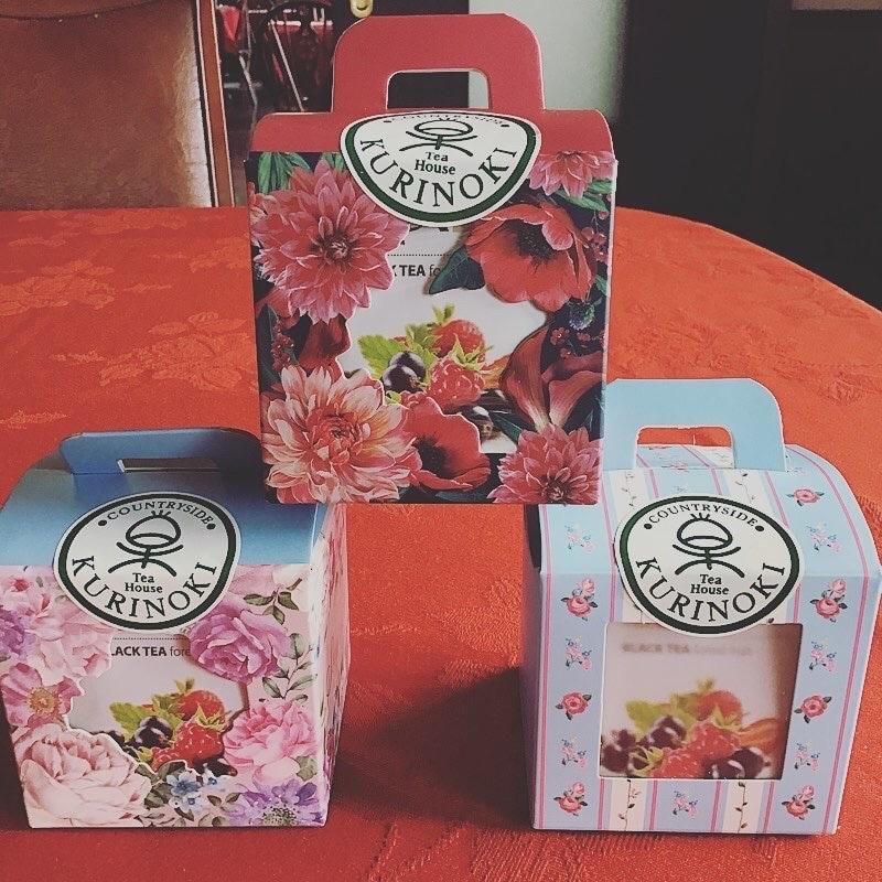 Tea House KURINOKI | 🔱かわいい紅茶3種セット🔱 〜プレゼントにいかがですか〜