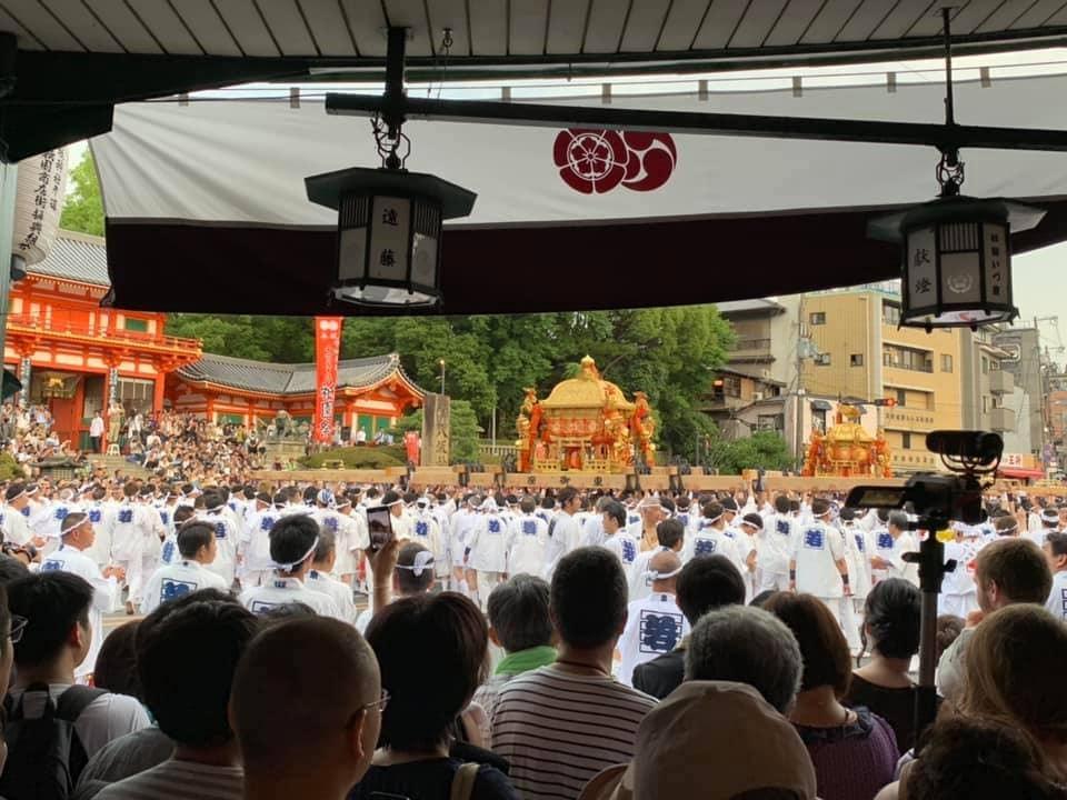 京都祇園|京つけもの「ぎおん川勝」|お茶漬処「ぶぶ家」 | 祇園祭 「山鉾巡行」と「神幸祭の神輿渡御」