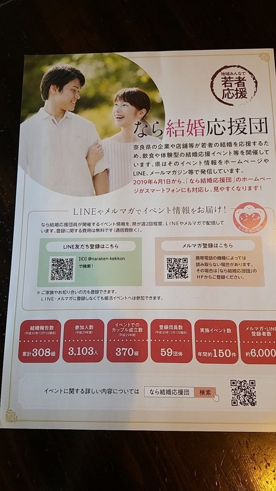奈良大和郡山市で人気のフレンチ&イタリアンバルCopine(コピーヌ) | 恒例🎀コピーヌ婚活パーティ【1月26日】✨✨