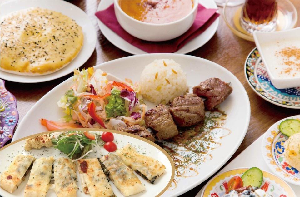トルコの家庭料理 ジェイハン | 横浜・石川町 デリバリーできます!