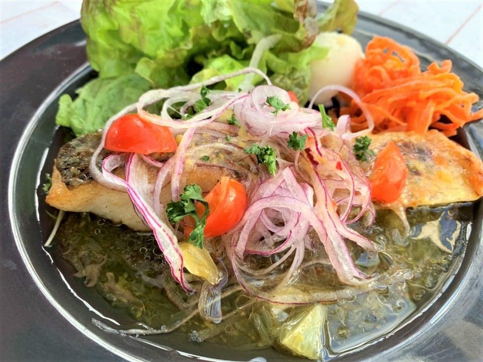 レストラン リトルシード | 🧂減塩の日🧂におすすめなのは『白身魚のレモンオイル』🍋