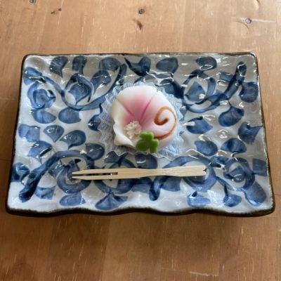 上生菓子『朝顔』