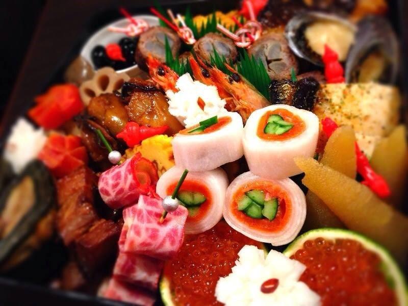 伊豆の魚と全国美味しい日本酒が味わえる 東京中野坂上 古民家風隠れ家 割烹きりん | 8寸1段重30,000円(税込み)おせち料理ご予約承ります。
