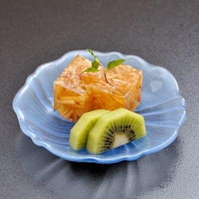 食後のフルーツサービス