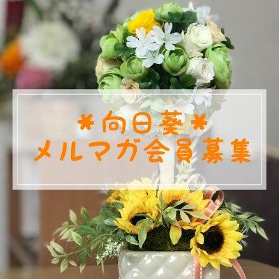 【来店者限定】*向日葵*ブレンドハーブティーを1袋プレゼント!