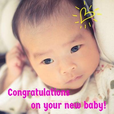 ご出産おめでとうございます!整体院輝からの出産祝い!ご出産から半年以内であれば一度だけ無料で治療しますクーポン!