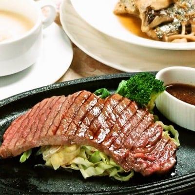 ランチ&ディナーコース 国産ビーフステーキへのグレードアップ通常1000円→500円