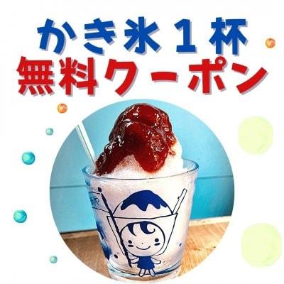 【テレビ出演記念】かき氷1杯無料(9月末まで)