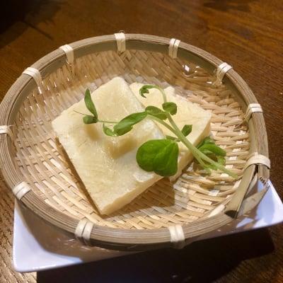 氷豆腐サービス