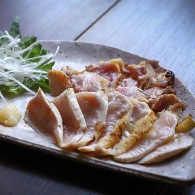 【5月来店限定】地鶏のたたき盛合わせ 1260円→630円にてお召し上がりいただけます。