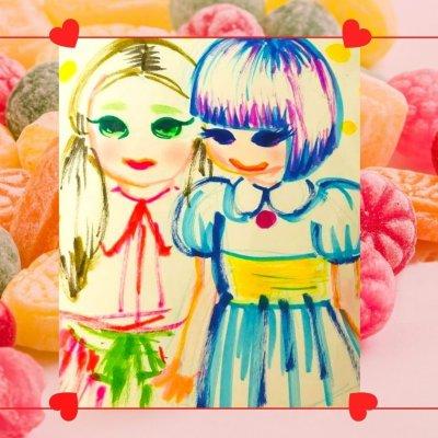 花girl〜絵葉書プレゼント〜②なかよし