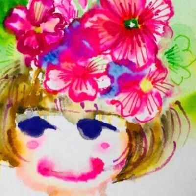 花girl〜絵葉書プレゼント〜③花冠