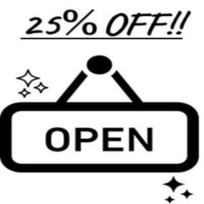 【OPEN記念!新規会員登録クーポン】nanonine施工サービス 25%OFF!!