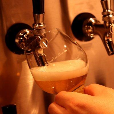 【銀座店限定】 スワンレイクビール 又は 新潟地酒 1杯サービス