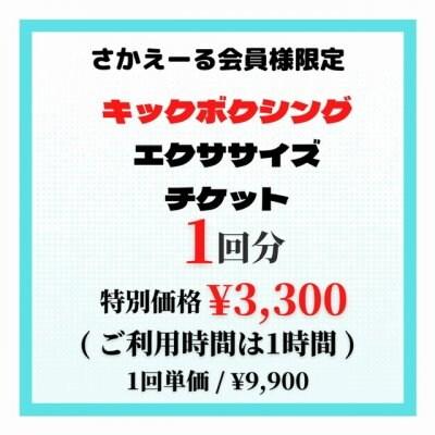 水素サロン さかえーる会員様限定 キックボクシング(エクササイズ)特別価格価格クーポン
