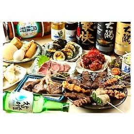 肉串屋 串の千本桜ナインモール九条店/乾杯ドリンクプレゼント