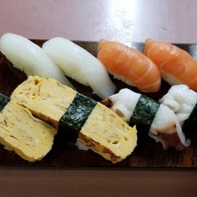 お寿司2貫無料!!
