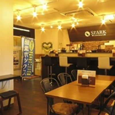 Cafe & Beauty SPARK 酸素カプセル300円OFF&ドリンク1杯無料 【FNKウェブチケット定期購入者限定】