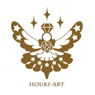 ハンドメイド作品・アート作品のHOUKIアート