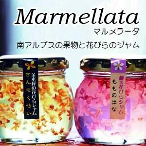 南アルプスの果物と花びらジャム「マルメラータ」