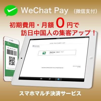微信支付 WeChat Pay ウィーチャットペイ 申込み 正規代理店