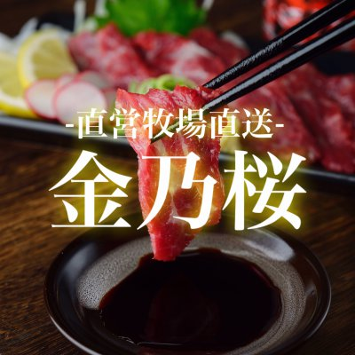 "馬刺し通販 金乃桜 -最高級馬肉""金乃桜""を特別販売"