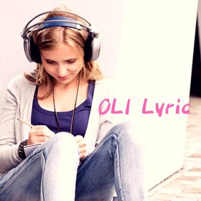 作詞代行 作詞依頼 作詞添削 作詞講座 OLI Lyric〜あなたの代わりに作詞します〜