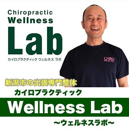 新潟市の出張カイロプラクティックWellnessLab〜ウェルネスラボ〜