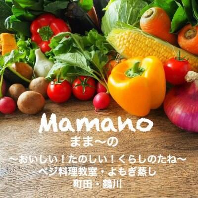 ベジ料理教室 よもぎ蒸し 町田・鶴川  おいしい! たのしい! くらしのたね Mamano ままーの