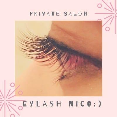 目元を輝かせる/マツエクサロン/Eyelash nico :)