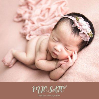 赤ちゃんの写真 ニューボーンフォトグラフィー MIO.SATO/新生児と家族撮影