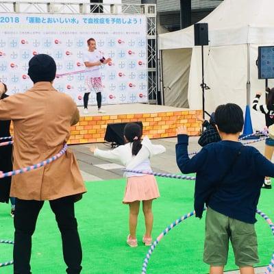 【日本健康体操普及連盟】 【日本フープダンス協会】