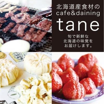 北海道産食材のcafe&daining tane
