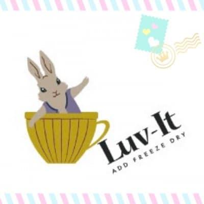"""シンガポール発◎フリーズドライ・フルーツ """"Luv-It""""(ラビット)"""