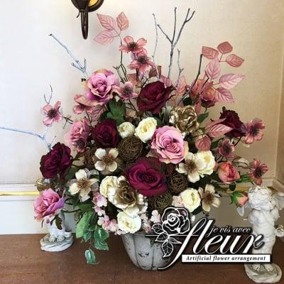愛媛県の造花専門店 ジュヴィアヴェック フルール