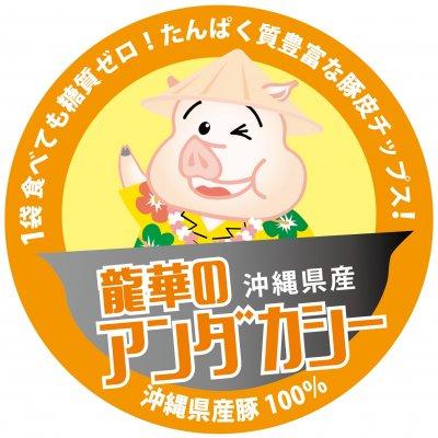 沖縄で生まれた高タンパク・糖質ゼロのスナック|沖縄伝統おやつ|沖縄のお土産|龍華のアンダカシー