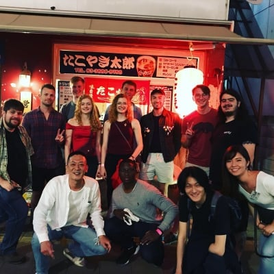 東京都足立区/アリオ西新井 /タクシー乗り場前/たこ焼き居酒屋/たこやき太郎
