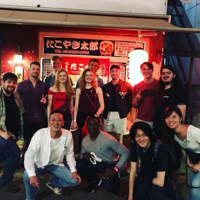 東京都足立区/アリオ西新井/タクシー乗り場前/たこ焼き居酒屋/たこやき太郎