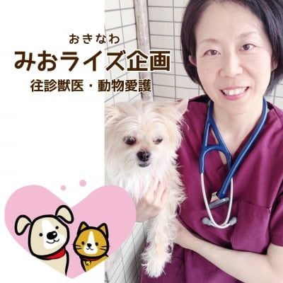 沖縄/那覇・浦添市ペットの往診専門獣医「みおライズ企画」動物愛護・公衆衛生活動もおこなっています。